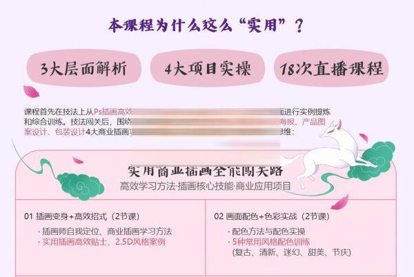 罗雨舒(可乐)老师实用商业插画全能班课程官方售价2780元百度网盘免费下载插图(1)